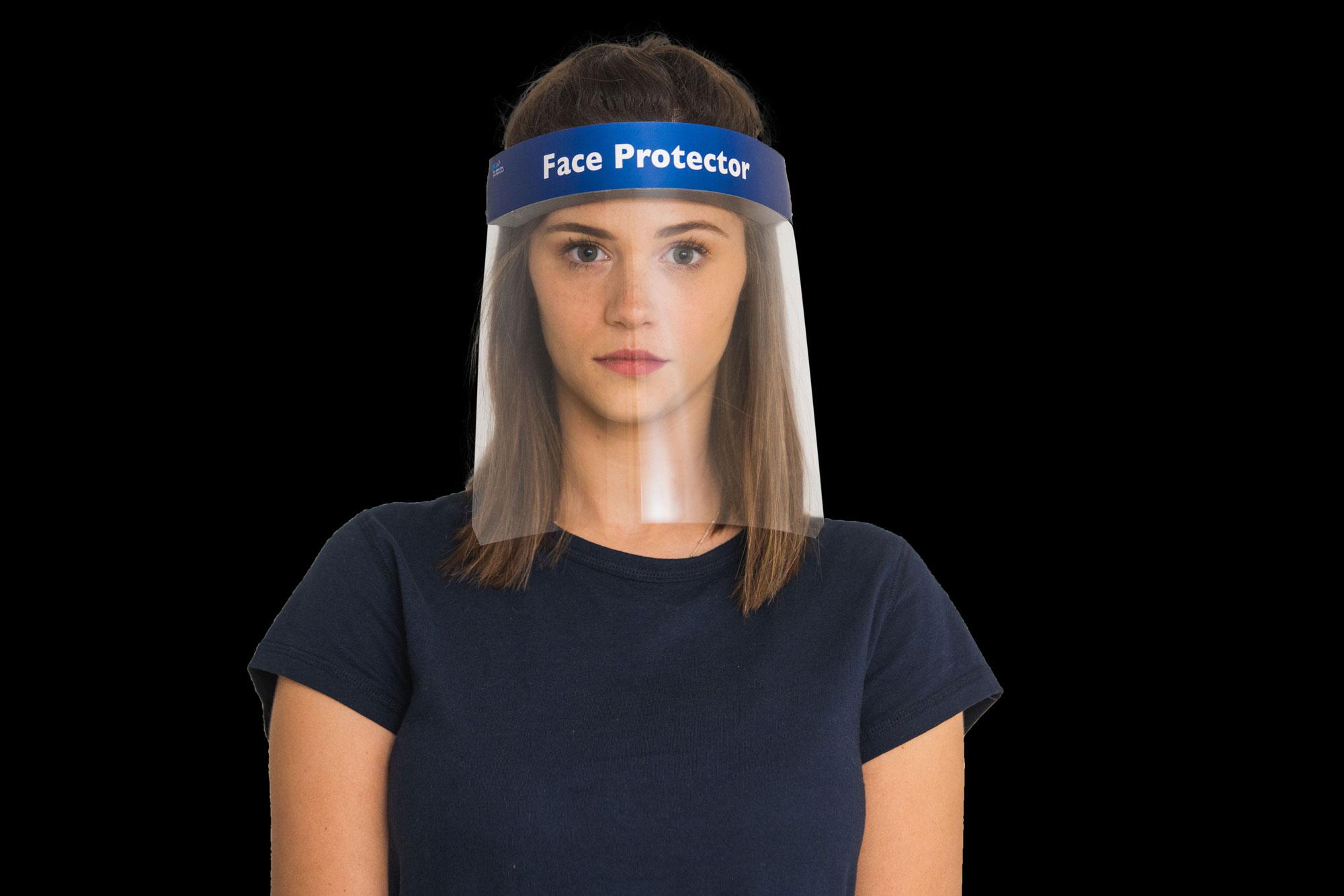 מחיר מגן פנים שקוף